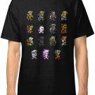 Final Fantasy VI Limited Edition New T-Shirt Men's Black Size S - 2XL