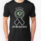 NEW Chapecoense - Forca Chape Men Black T-Shirt Size S-2XL