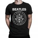 The Beatles Ramones Style T-Shirt, Men's Women's S to 2XL