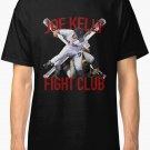 Boston Baseball Red Joe Kelly Fight Club Fan Men's Black T-Shirt size S to 2XL