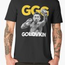 New GGG Gennady Golovkin Poster Men's Black T-Shirt size S to 2XL
