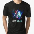 New alan walker galaxy Men's Black T-Shirt size S to 2XL