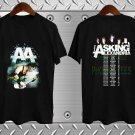 New-Asking-Alexandria-2018-2019-Concert-Tour Mens Logo T shirt S-2XL