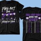 RARE Fall-Out-Boy-T-Shirt-MANIA-TOUR-2018 Mens Logo T shirt S-2XL