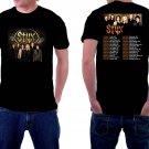 HOT NEW Styx Tour 2018 Tshirt Black color Short Sleeve T-Shirts S-2XL