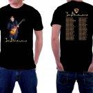 HOT NEW Joe Bonamassa Tour 2018 Tshirt Black Color Short Sleeve T-Shirts S-2XL