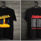 HOT NEW Dokken Vintage T Shirt 1985 Under Lock and Key Tour Har T-Shirts S-2XL