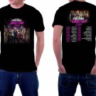 HOT NEW Steel Panther Tour 2018 Tshirt Black Color Short Sleeve T-Shirts S-2XL