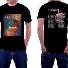 HOT NEW Todd Rundgren Tour 2018 Tshirt Black Color Short Sleeve T-Shirts S-2XL