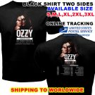 HOT NEW Ozzy Osbourne No More Tours 2 North American 2018 T-Shirts S-2XL