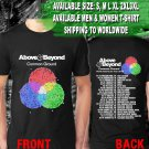 HOT NEW Above & Beyond Common Ground American Tour Dates 2018 T-Shirts S-2XL