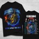 HOT NEW Scorpions T-Shirt-Crazy-World-2018 T-Shirts S-2XL