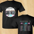 HOT NEW New Maroon 5 north american tour 2018  T-Shirts S-2XL