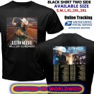 HOT NEW Justin Moore Hell On Highway Albums Tour Dates 2018 T-Shirts S-2XL