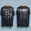 HOT NEW Maroon 5 Red Pill Blues Tour 2018  T-Shirts S-2XL