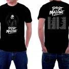HOT NEW Post Malone Tour 2018 Tshirt Black Color Short Sleeve   T-Shirts S-2XL