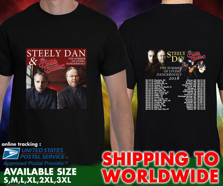 HOT NEW Grateful Dead & Company Summer Tour Dates 2018 T-Shirts S-2XL