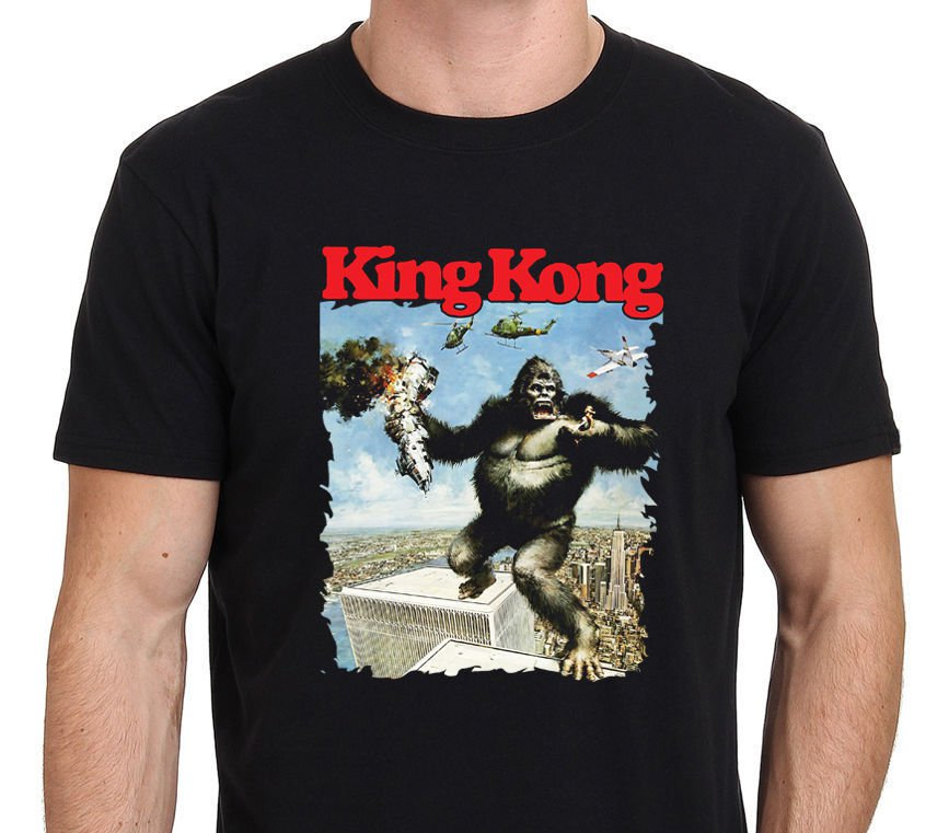 HOT NEW KING KONG 80's Vintage Movie  T-Shirts S-2XL
