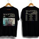 New  Mantra First-Love-Tour-Dates Design Black Tee T-Shirt