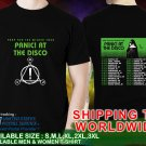 New Panic-At-The-Disco-Pray-For-The-Wicked-tour-dates T-Shirt Black Tee T-Shirt