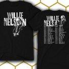New Willie-Nelson-2018-tour-dates Black Tee T-Shirt
