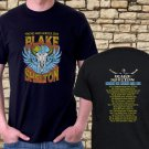 New Blake-Shelton-Friends-Heroes-Tour-date-2019 Design Black Tee T-Shirt