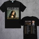 New  KELLY-CLARKSON-MEANING-OF-LIFE-Dates-Tour-2018-2019 Black Tee T-Shirt