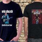 New  Eric-Church-Concert-Tour-date-2019 Black Tee T-Shirt