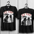 NEW 66259-Popular ZZ TOP U.S. TOUR 2018 T Shirt Size S-2XL