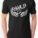 Calle 13 La voz del Pueblo Men's Black T-Shirt Men's Size S to 2XL