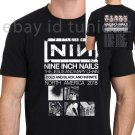 New 89799-Nine Inch Nails North American Tour 2018 T Shirt Size S-2XL