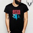 Otis Redding Tour Poster Famous Singer Men's Black T-Shirt Size S-2XL