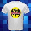 Batmobile Psychobilly Rock Band White T-Shirt Size S-2XL