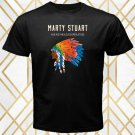 Marty Stuart Country Music Singer Album Cover Men's Black T-Shirt Size S-2XL
