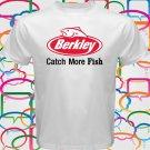 Berkley Fishing Logo Spinners Crankbaits Men's White T-Shirt Size S-2XL