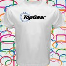 TOP GEAR Automobile Automotive Magazine Logo Men's White T-Shirt Size S-2XL