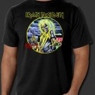 Iron Maiden Killers Album Heavy Metal Rock New Black T-shirt S-2XL