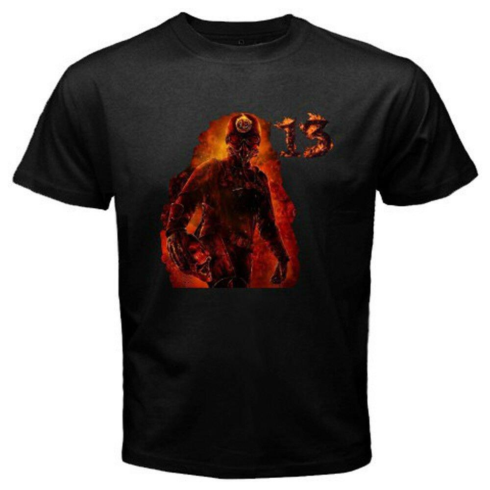 New BLACK SABBATH 13 Tour Logo Metal Rock Band Men's Black T-Shirt Size S-2XL