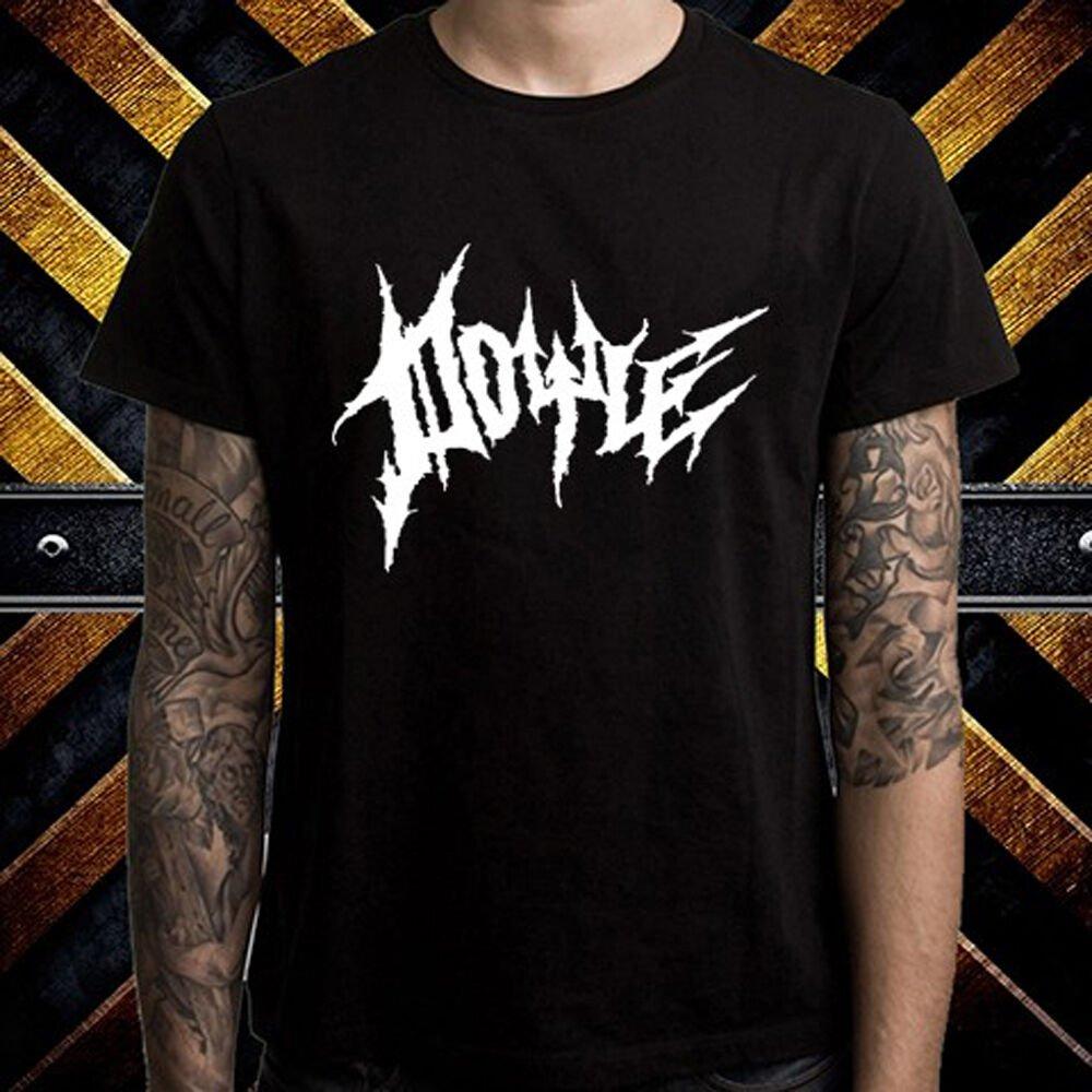 Doyle Misfits Guitarist Bass Band Logo Men's Black T-Shirt Size S-2XL