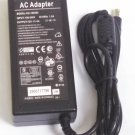 AC Adapter Charger 12V 4A (5.5x2.5) for LCD monitors new OEM replacement