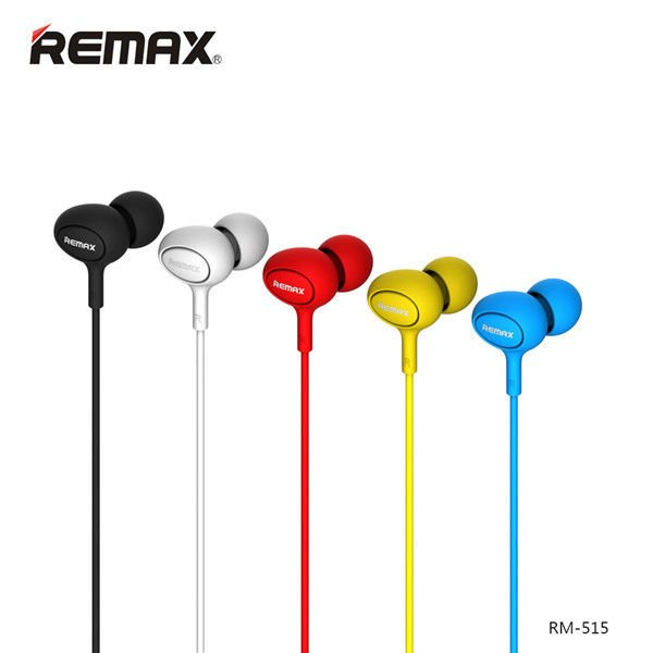 REMAX RM-515 Universal Candy In-ear Earphone Headphone With Mic
