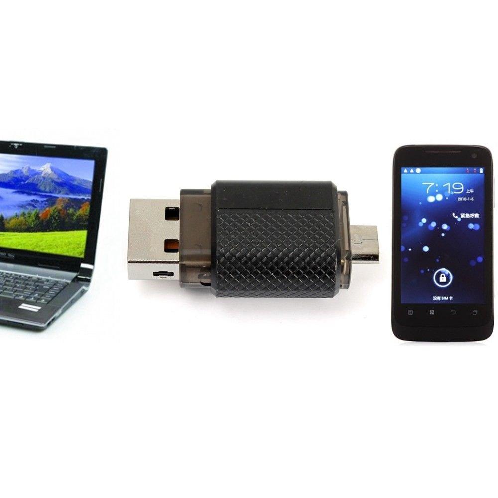 64GB OTG Dual Micro USB 2.0 Flash Pen Thumb Drive Memory Stick For Phone Laptop