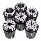 6pcs ER32 Spring Collet Set 1/8 Inch to 3/4 Inch Chuck Collet for CNC Milling