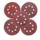 50Pcs 8 Holes Abrasive Sand Discs Sanding Paper 40 60 80 120 240 Grit Sand Paper
