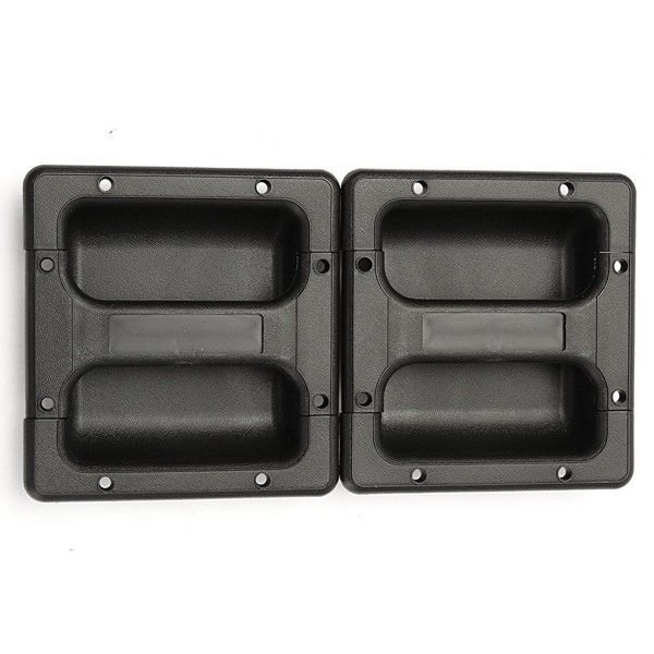 LOT 2PCS Plastic Replacement Recessed Handle for Guitar Amp Cabinet Speaker