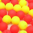 30Pcs 12mm Round Tackles Flavor Feeder Beads Floating Fishing Lure Carp Baits