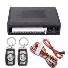 Universal Waterproof Car Kit Door Lock Vehicle Keyless Entry System + 2 Remote