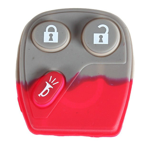 GM 3 Button Replacement Pad Remote Key Keyless Entry Fob Case