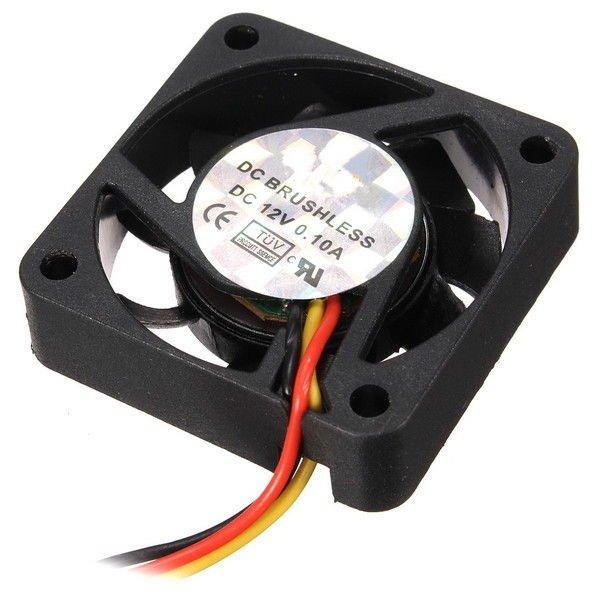 12V Internal Desktop Computer CPU Case Cooling Cooler Master Silent Fan 4cm