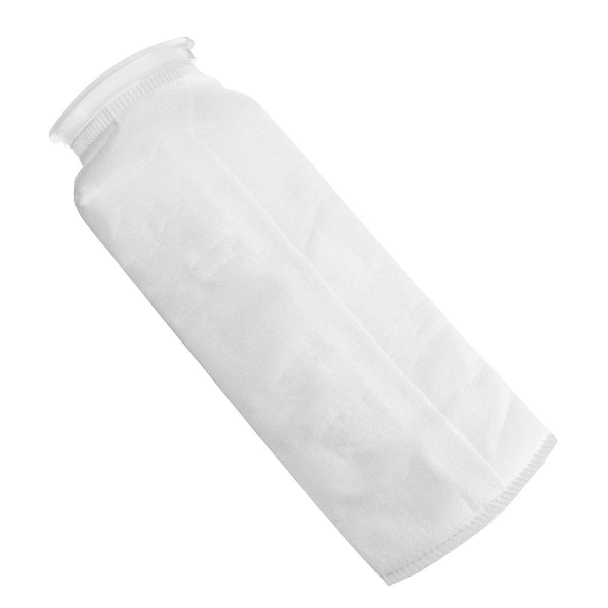 25-75μm Aquarium Fish Tank Filter Bag Sump Felt Sock Mesh Net Bag Micron